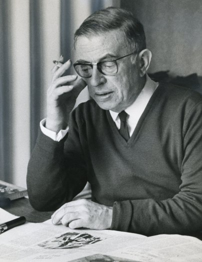Sartre confronted all the powerful institutions of his time (the bourgeois state, the Communist party, the university system); his writings on existentialism and Marxism in the post-second world war decades marked the pinnacle of the French traditions of republican universalism and philosophical radicalism.