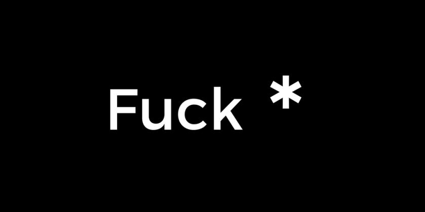 'Fuck'