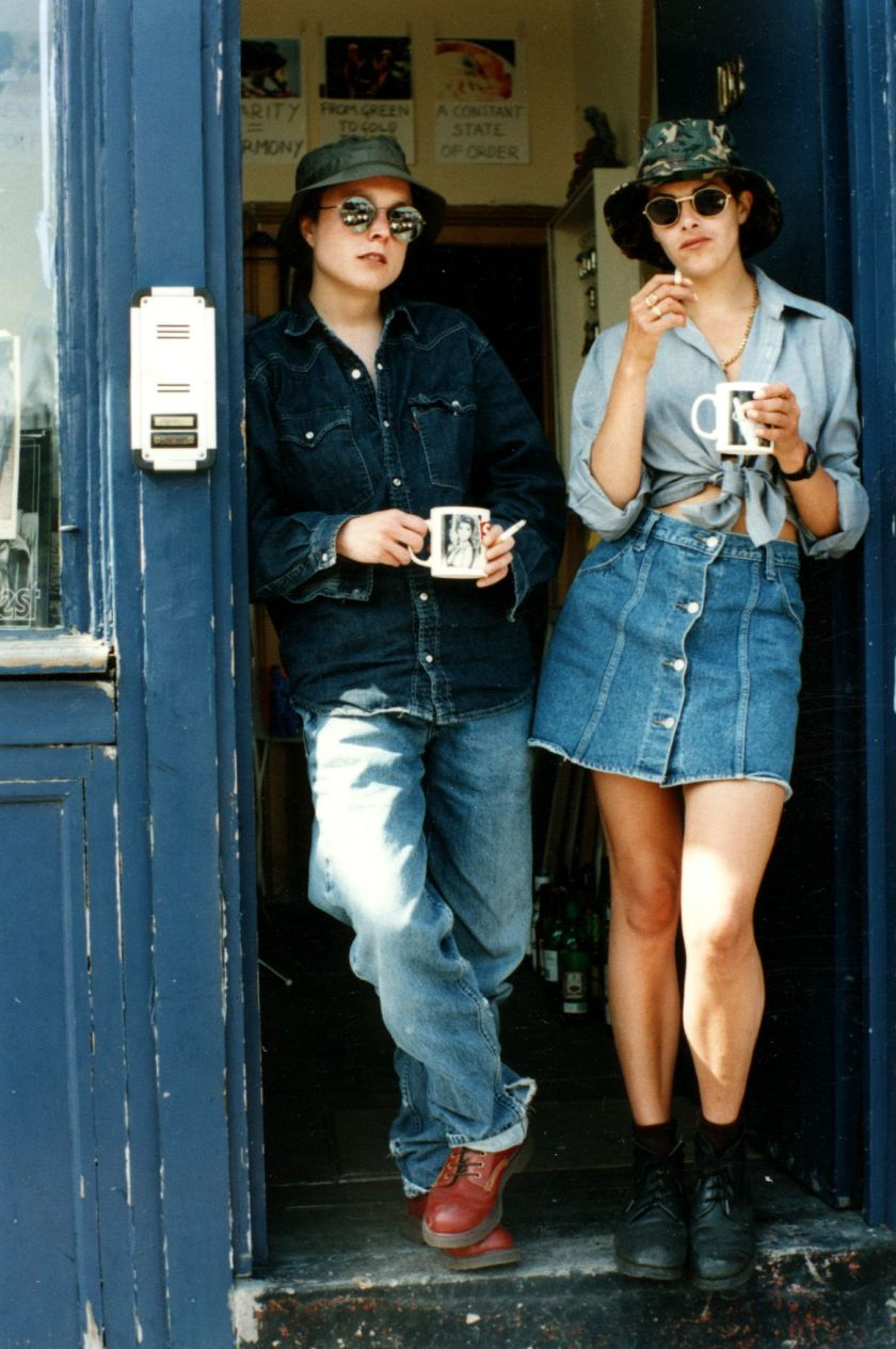Tracey Emin and friend (dunno when)