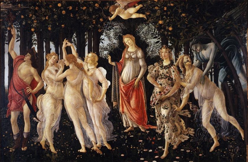 Primavera, by Sandro Botticelli (c. 1479)