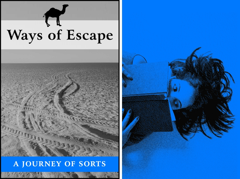 'Ways Of Escape: a journey of sorts' is a work in progress by J. H. & J. H.