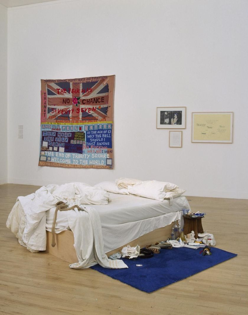 My Bed, by Tracey Emin (1998)
