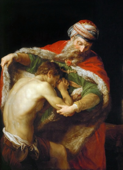 Prodigal Son, by Pompeo Batoni (1773)