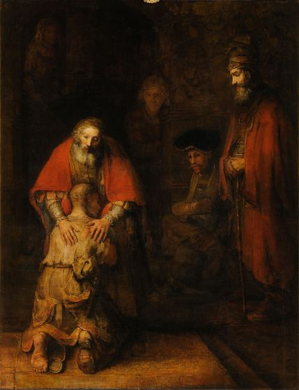 Prodigal Son, by Rembrandt (c. 1668)