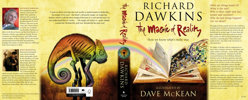 The Magic Of Reality By Richard Dawkins - dust jacket