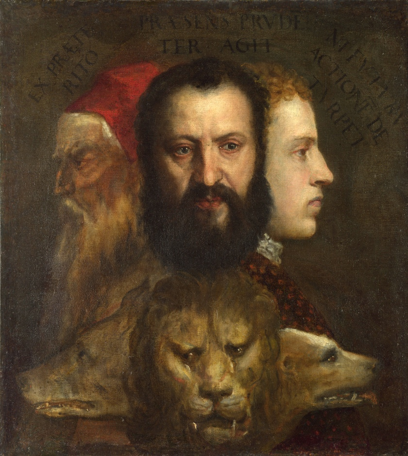 Prudence, by Titian (c. 1569)