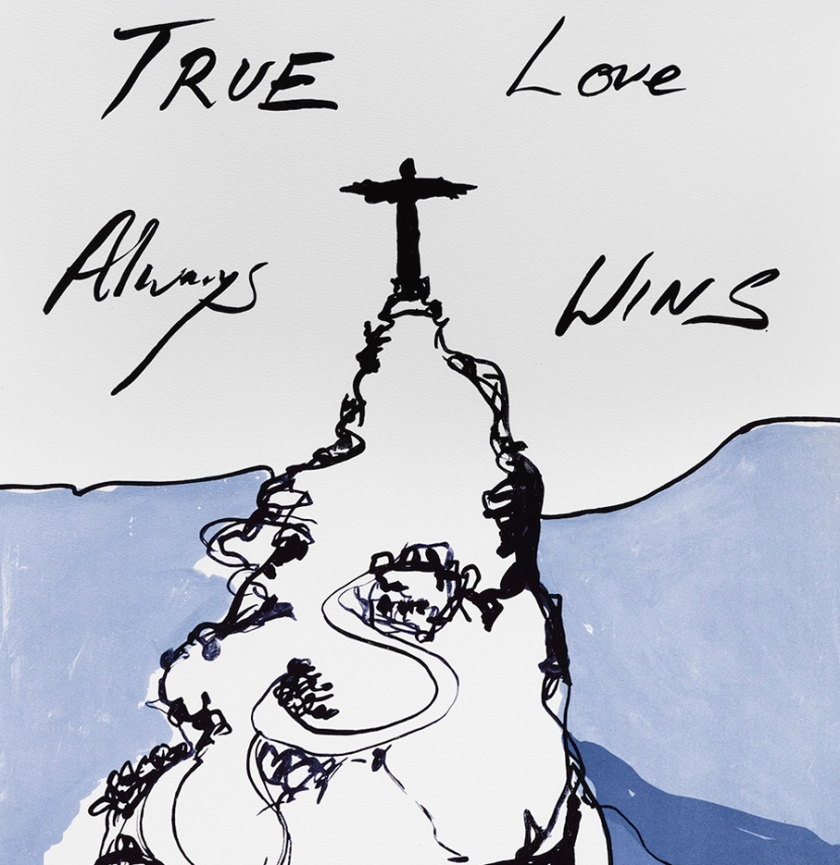 Sketch by Tracey Emin (dunno when)