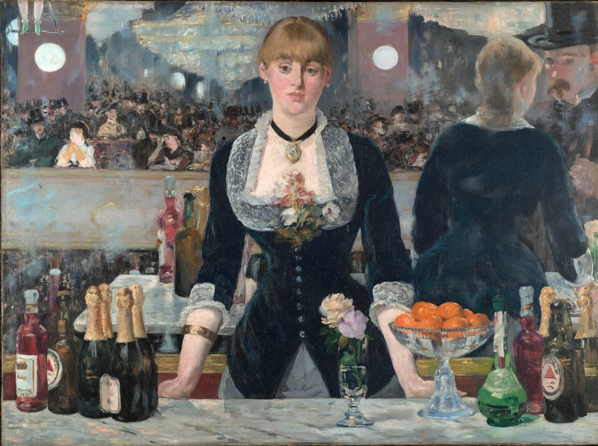 Un Bar aux Folies-Bergère, by Édouard Manet (1882)