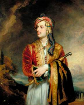 Phillips, Thomas; George Gordon Byron (1788-1824), 6th Baron Byron, Poet; Government Art Collection; http://www.artuk.org/artworks/george-gordon-byron-17881824-6th-baron-byron-poet-29031