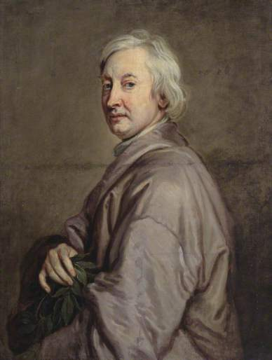 John Dryden Without wig