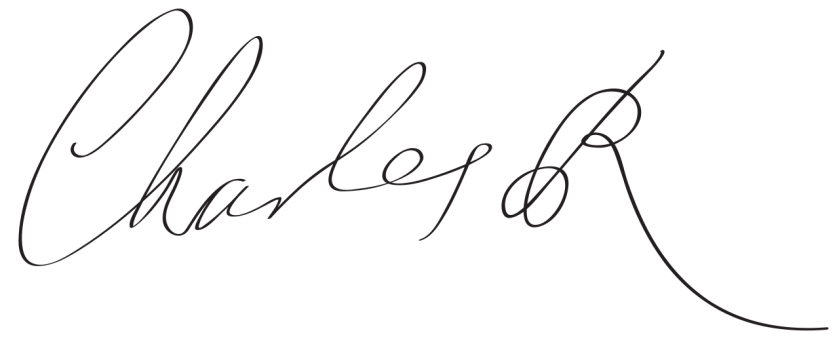 King Charles II -- Signature