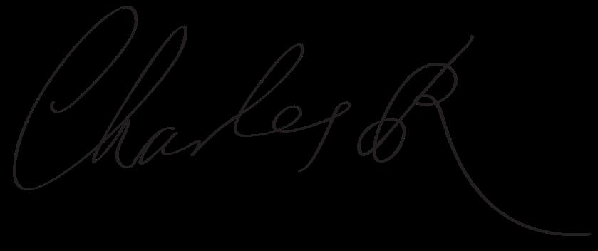 King Charles II -- Signature