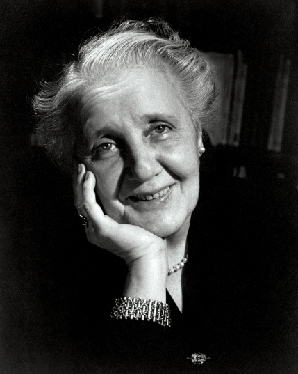 L0018518 Melanie Klein {1882-1960}: correspondence, Credit: Wellcome Library, London. Wellcome Images images@wellcome.ac.uk http://wellcomeimages.org Portrait of Melanie Klein, bust, frontal, hand under chin smiling. Photograph 1952 By: Douglas GlassCorrespondence, diaries, drafts of letters and publications, case material, photographs Published: - Copyrighted work available under Creative Commons Attribution only licence CC BY 4.0 http://creativecommons.org/licenses/by/4.0/