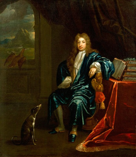 John Dryden With wig at the National Portrait Gallery