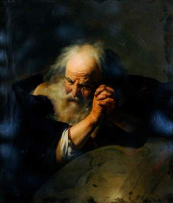 Moreelse, Johannes; Heraclitus, Ancient Greek Scientist; Museums Sheffield; http://www.artuk.org/artworks/heraclitus-ancient-greek-scientist-72832