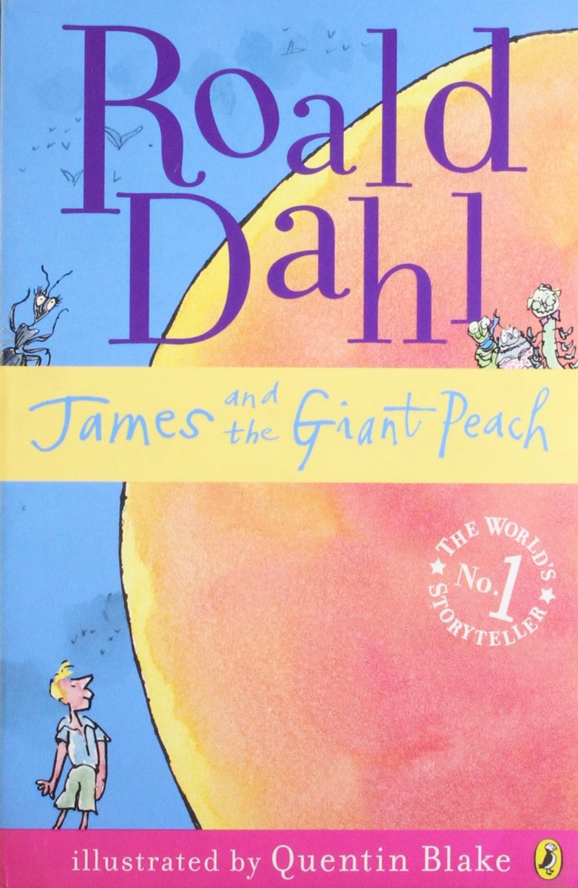 James and the Giant Peach is a popular children's novel written in 1961 by British author Roald Dahl