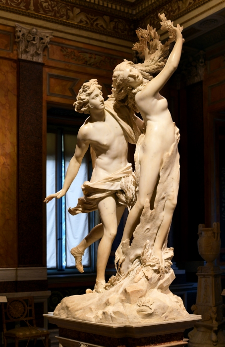 Apollo and Daphne by Bernini