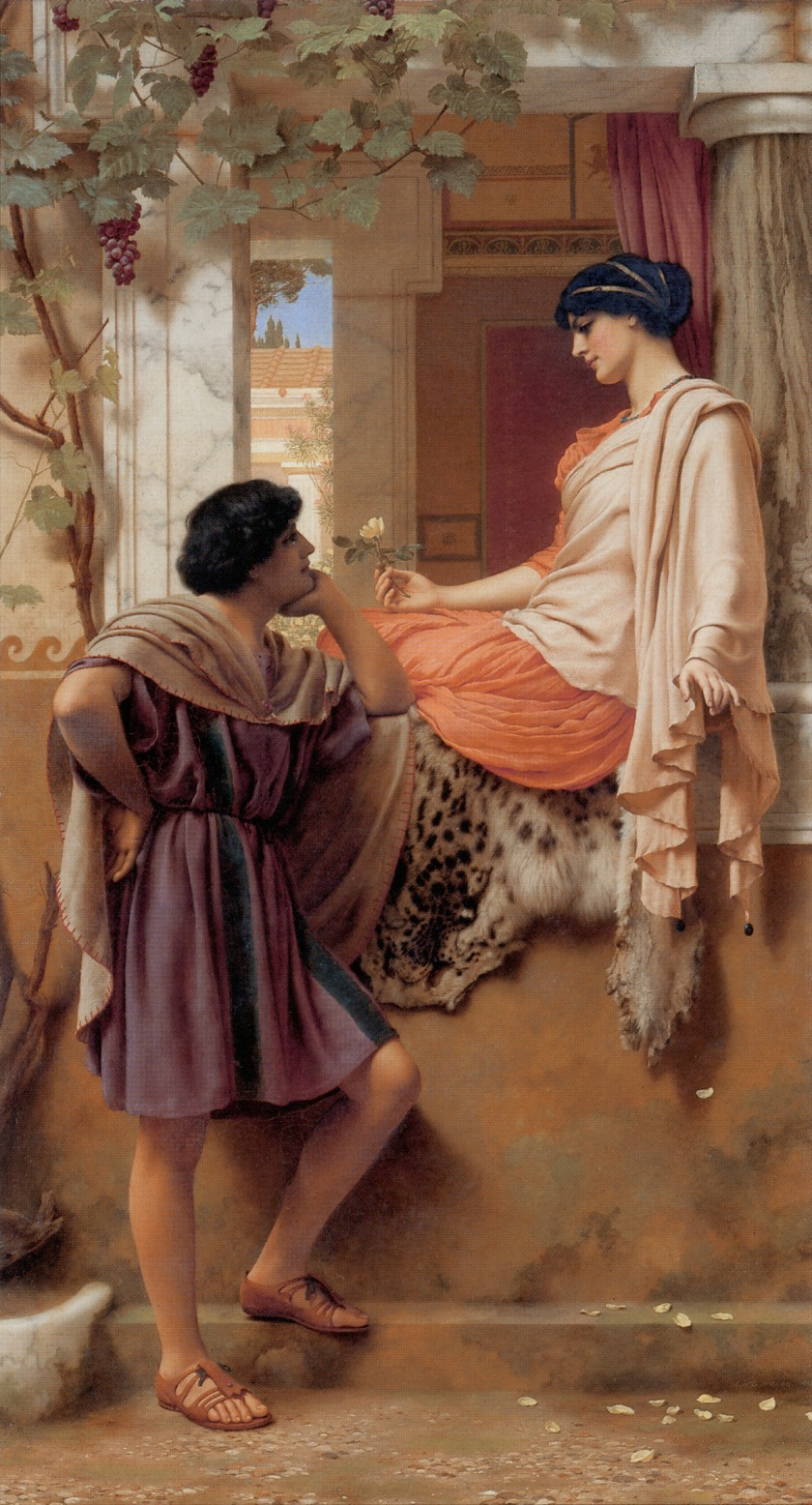 Godward: The_Old_Old_Story (1903)