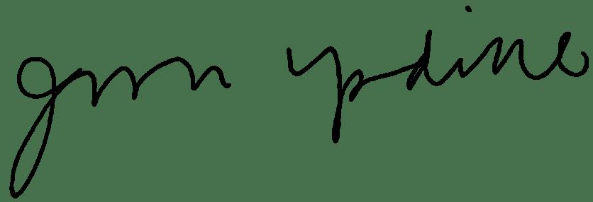 John_Updike_signature