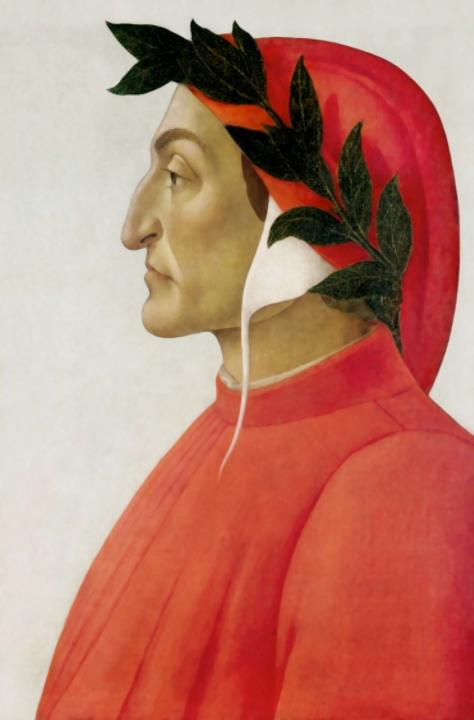 Dante Alighieri by Sandro Botticelli, 1495
