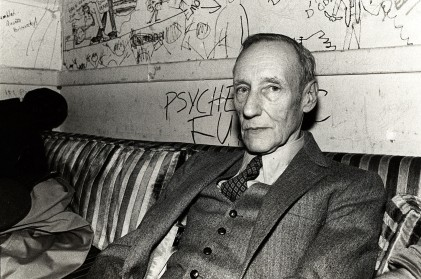 William S. Burroughs on 3/25/81 in Chicago, Il. (Photo by Paul Natkin/WireImage)
