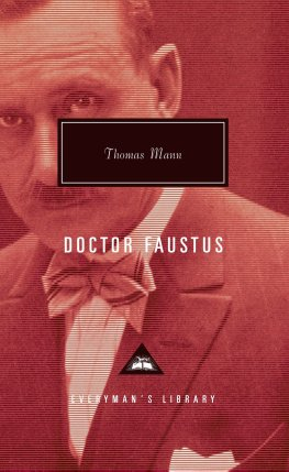 Faust, by Thomas Mann