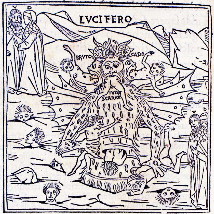 Lucifer_from_Petrus_de_Plasiis_Divine_Comedy_1491