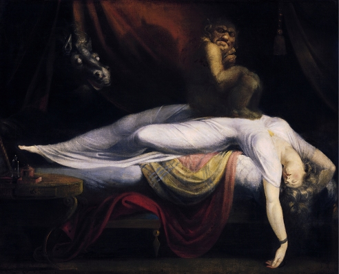 """The Nightmare"" by John Henry Fuseli."