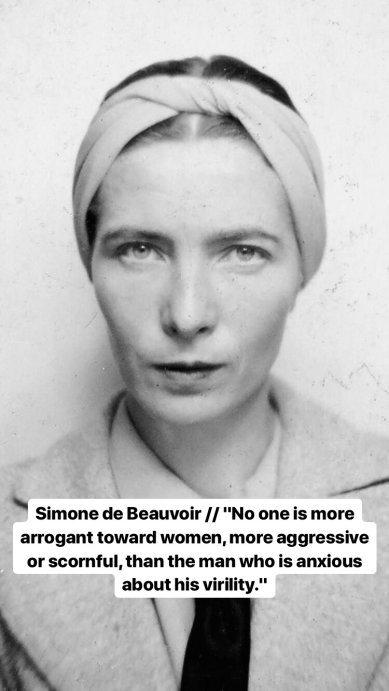 Simone de Beauvoir (1908–1986)