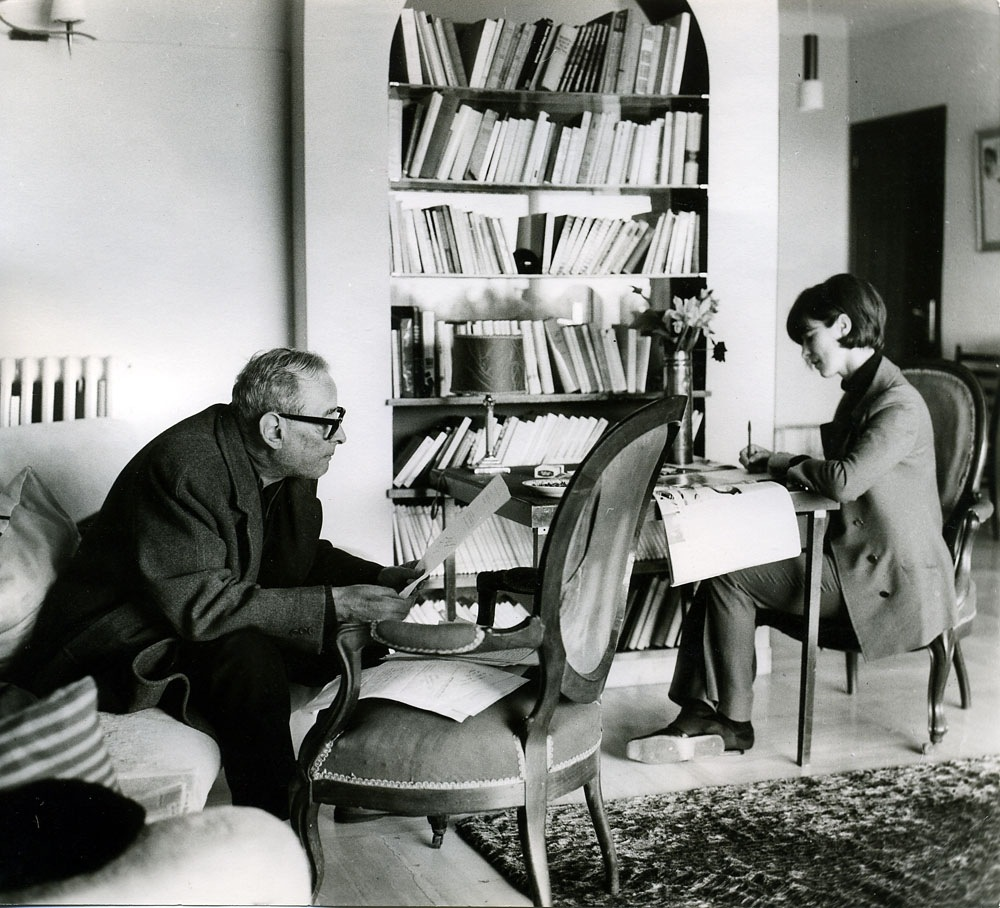 Rita and Witold Gombrowicz, 1969.