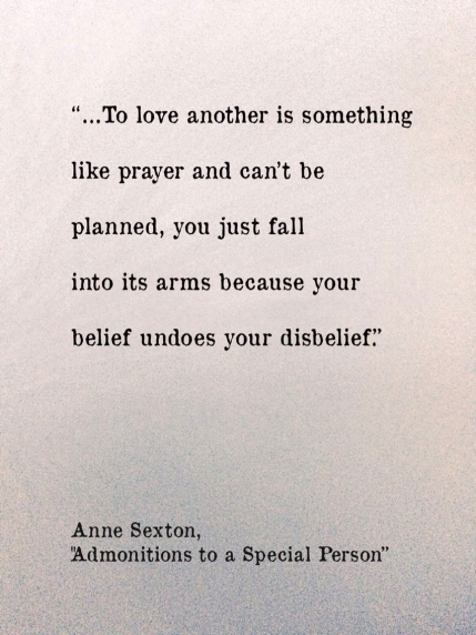 Anne Sexton, a poem