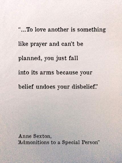 Anne Sexton, a poem