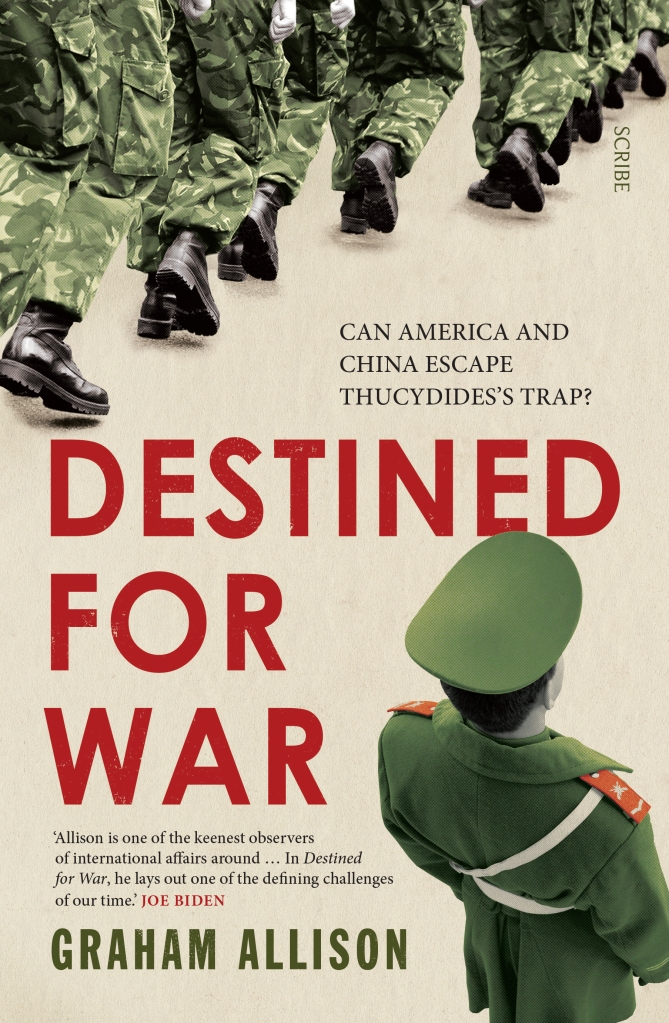 In Destined for War, the eminent Harvard scholar Graham Allison explains why Thucydides's Trap is the best lens for understanding U.S.-China relations in the twenty-first century. Through uncanny historical parallels and war scenarios, he shows how close we are to the unthinkable. Yet, stressing that war is not inevitable, Allison also reveals how clashing powers have kept the peace in the past — and what painful steps the United States and China must take to avoid disaster today.