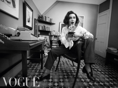 touched-for-the-very-first-time -- Madonna as Anne Sexton, by Vogue magazine (UK)