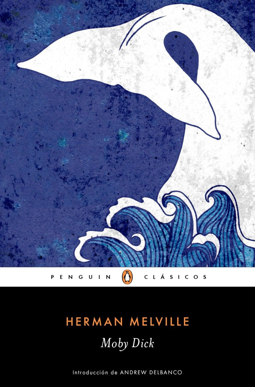 """Moby-Dick is an 1851 novel by American writer Herman Melville. Its opening sentence, """"Call me Ishmael,"""" is among world literature's most famous. The book is the sailor Ishmael's narrative of the obsessive quest of Ahab, captain of the whaling ship Pequod, for revenge on Moby Dick, the giant white sperm whale that on the ship's previous voyage bit off Ahab's leg at the knee. Its reputation as a """"Great American Novel"""" was established only in the 20th c., after the centennial of Melville's birth. William Faulkner said he wished he had written the book himself and, D. H. Lawrence called it """"one of the strangest and most wonderful books in the world [and] the greatest book of the sea ever written."""""""