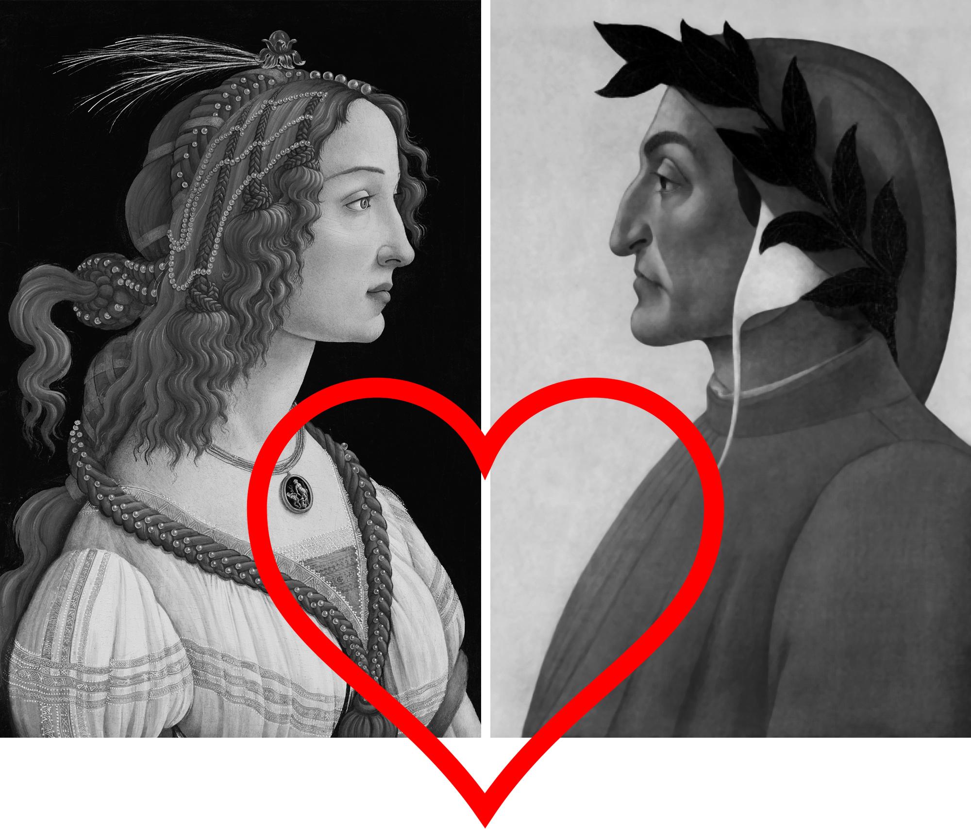 Simonetta and Dante