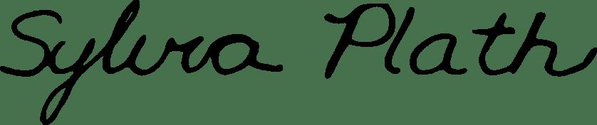 Sylvia_Plath_signature