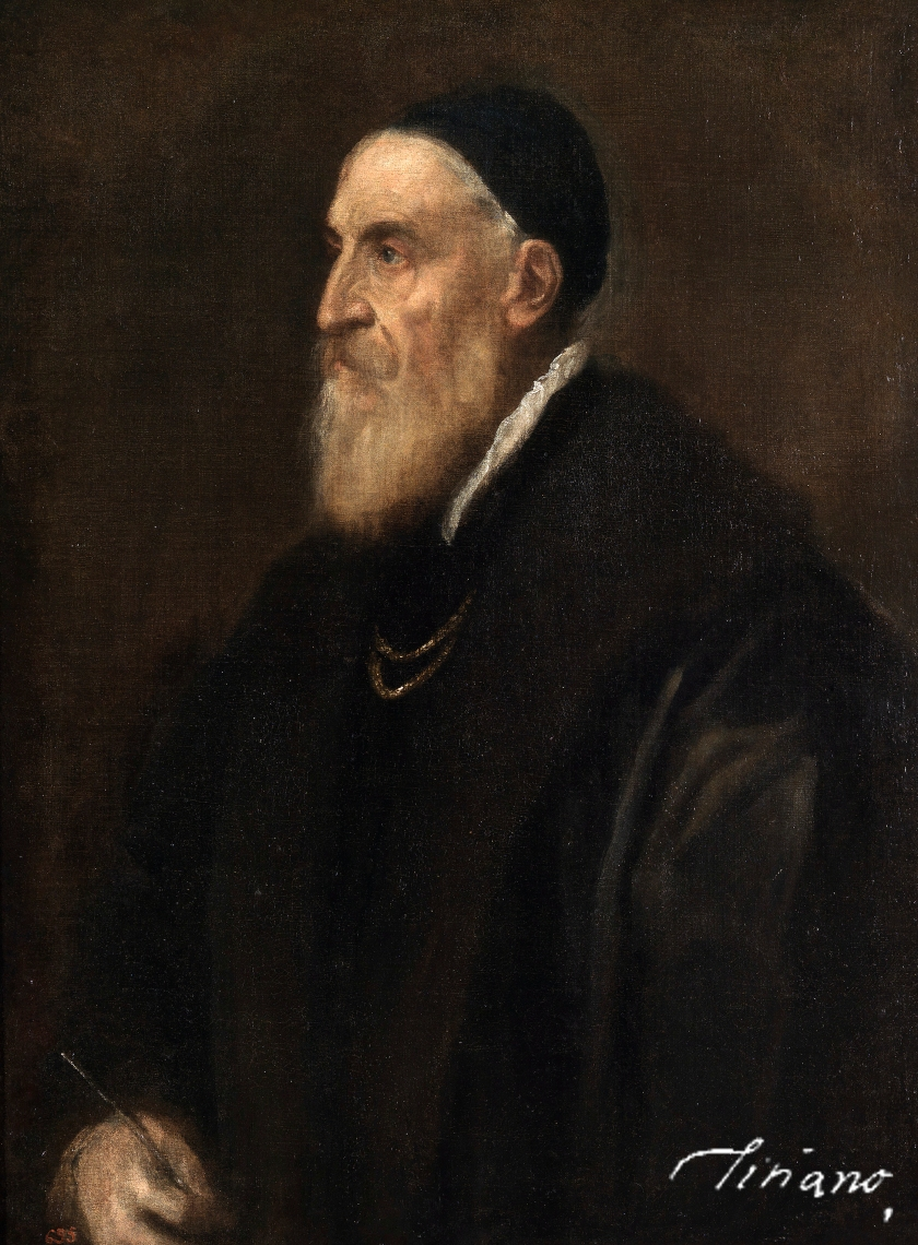 Self-Portrait, c. 1567; @ The Museo del Prado, Madrid