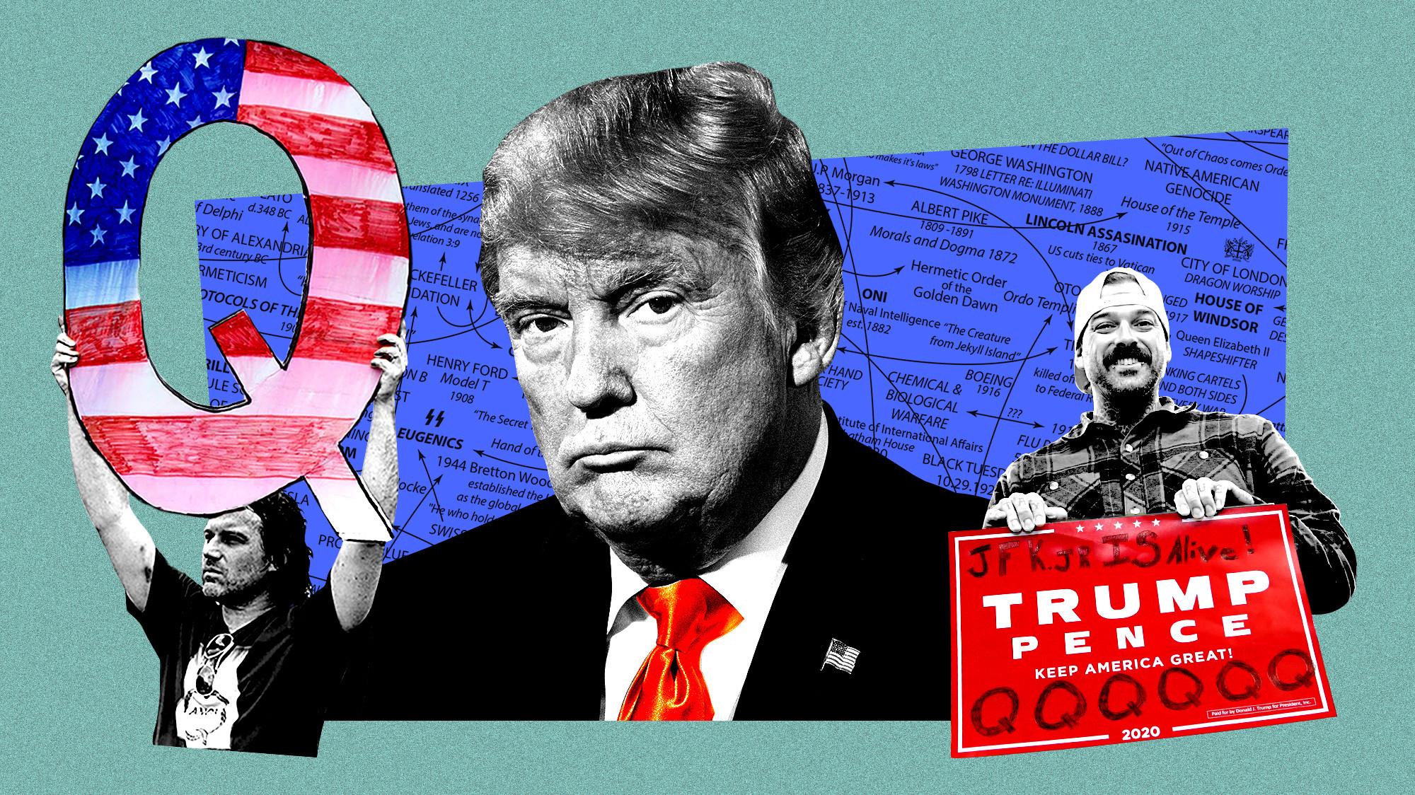 Trump. the Q Master :P
