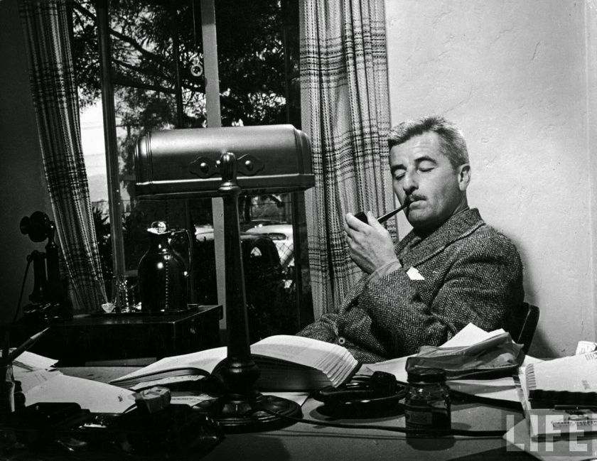 William Faulkner, by Life Magazine -- Memory believes before knowing remembers. Believes longer than recollects, longer than knowing even wonders.