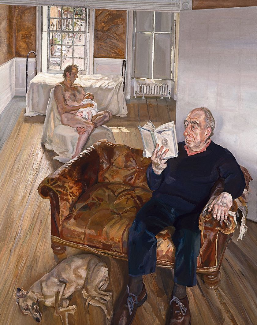 Large Interior, Notting Hill, 1998 (oil on canvas)