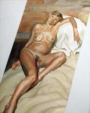 While pregnant, Kate Moss posed for Lucian Freud. Her portrait was purchased by an anonymous buyer for £3.9 million at auction in 2005