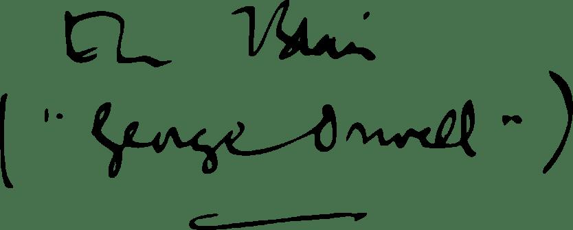 Orwell-Signature
