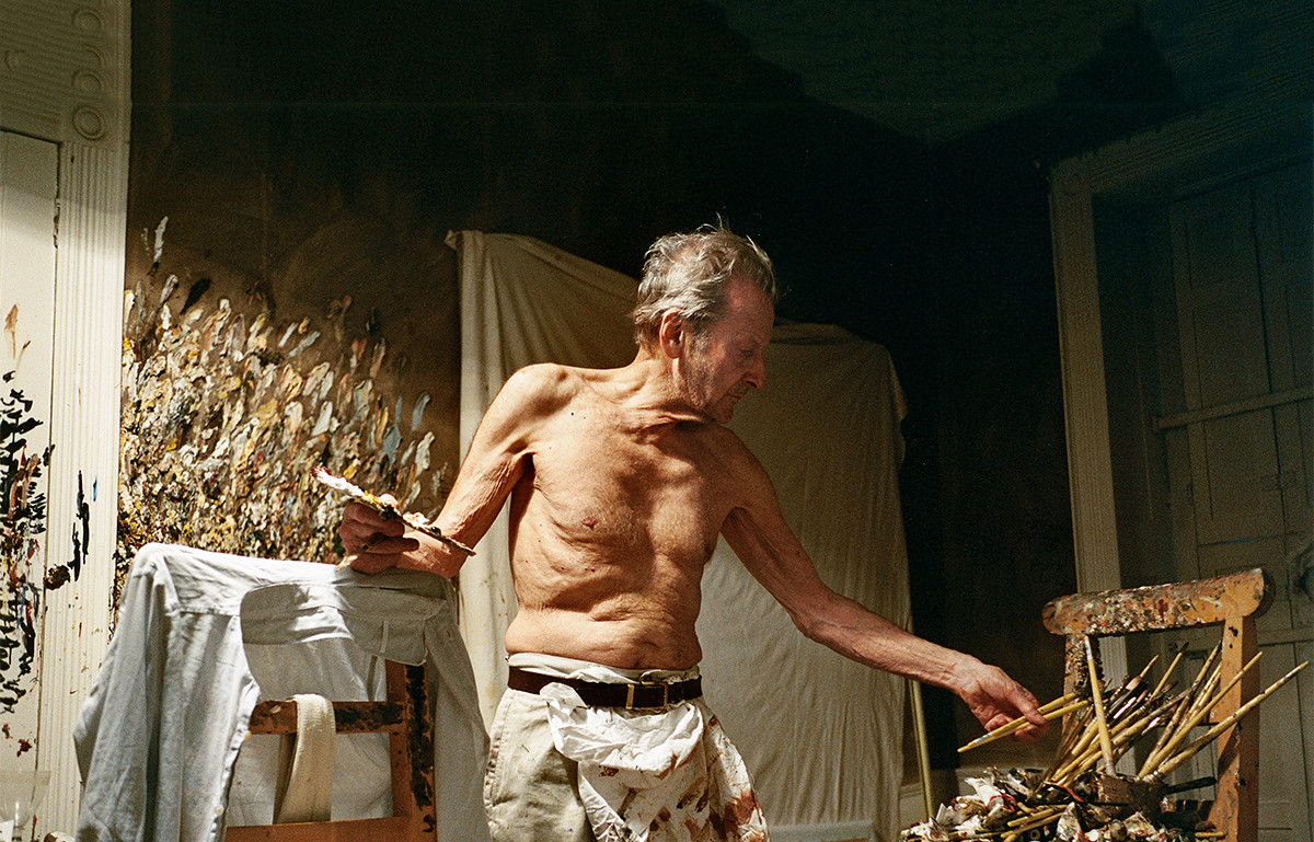 """""""The painter must give a completely free rein to any feeling or sensations he may have and reject nothing to which he is naturally drawn."""" -- Lucian Freud (1922–2011)"""