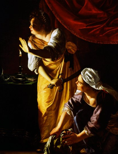 """Judith and her Maidservant"" by Artemisia Gentileschi (circa 1624)."