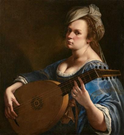 Artemisia, self portrait