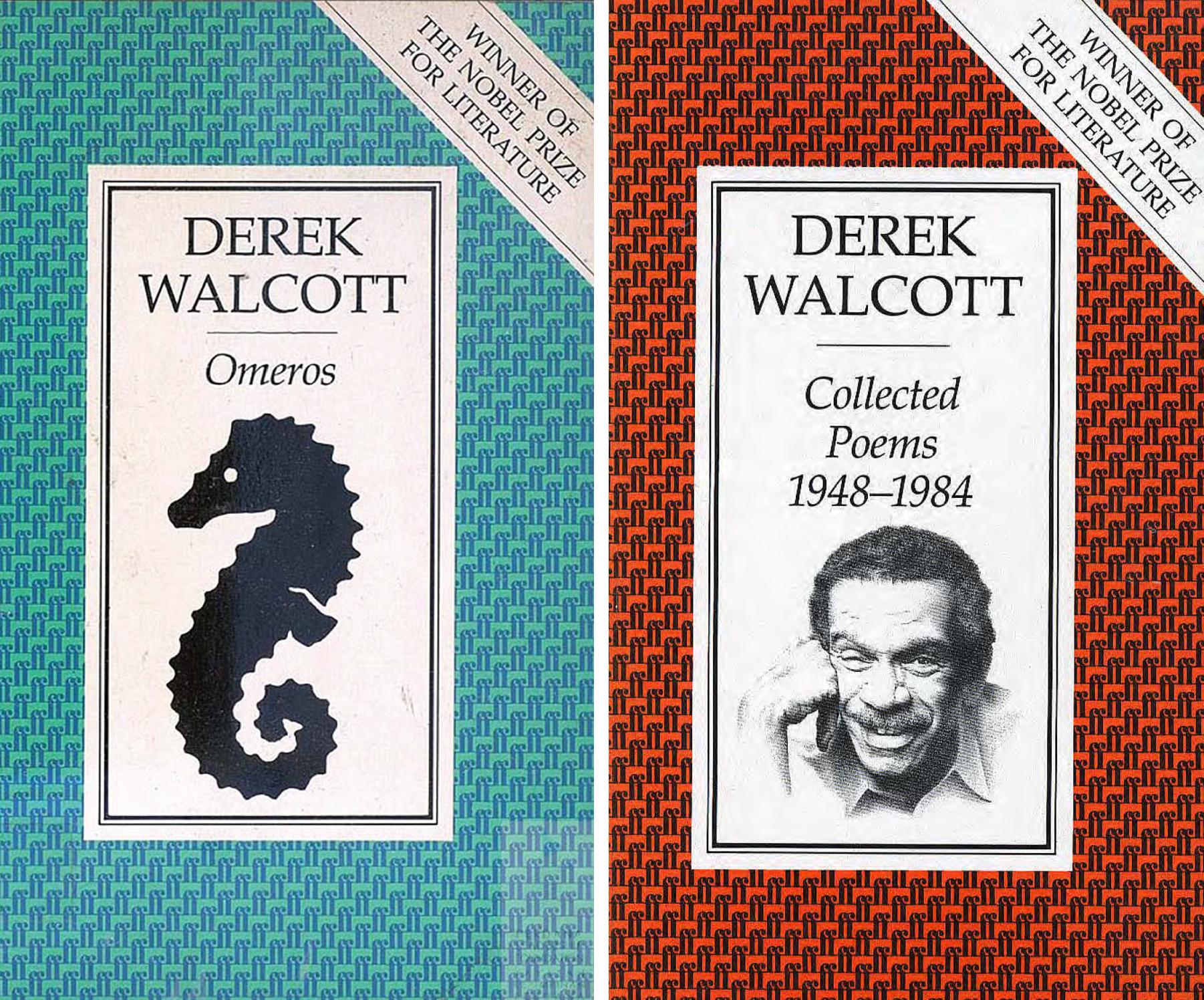 Derek-Walcott's--Books