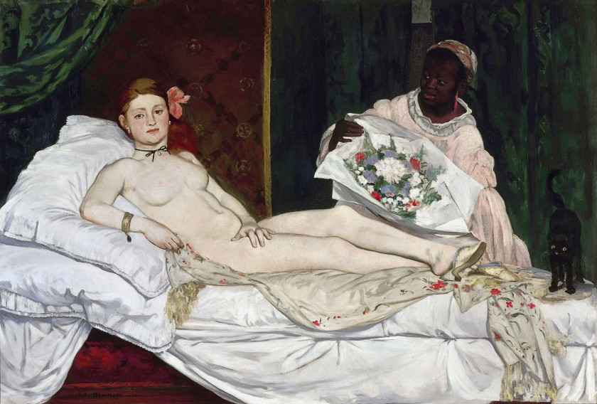 Olympia -- by Edouard Manet