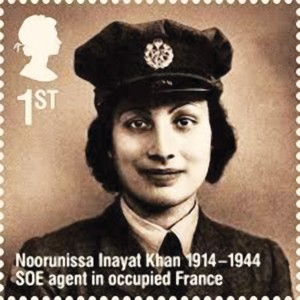 Noor Inayat Khan -- a brave woman.