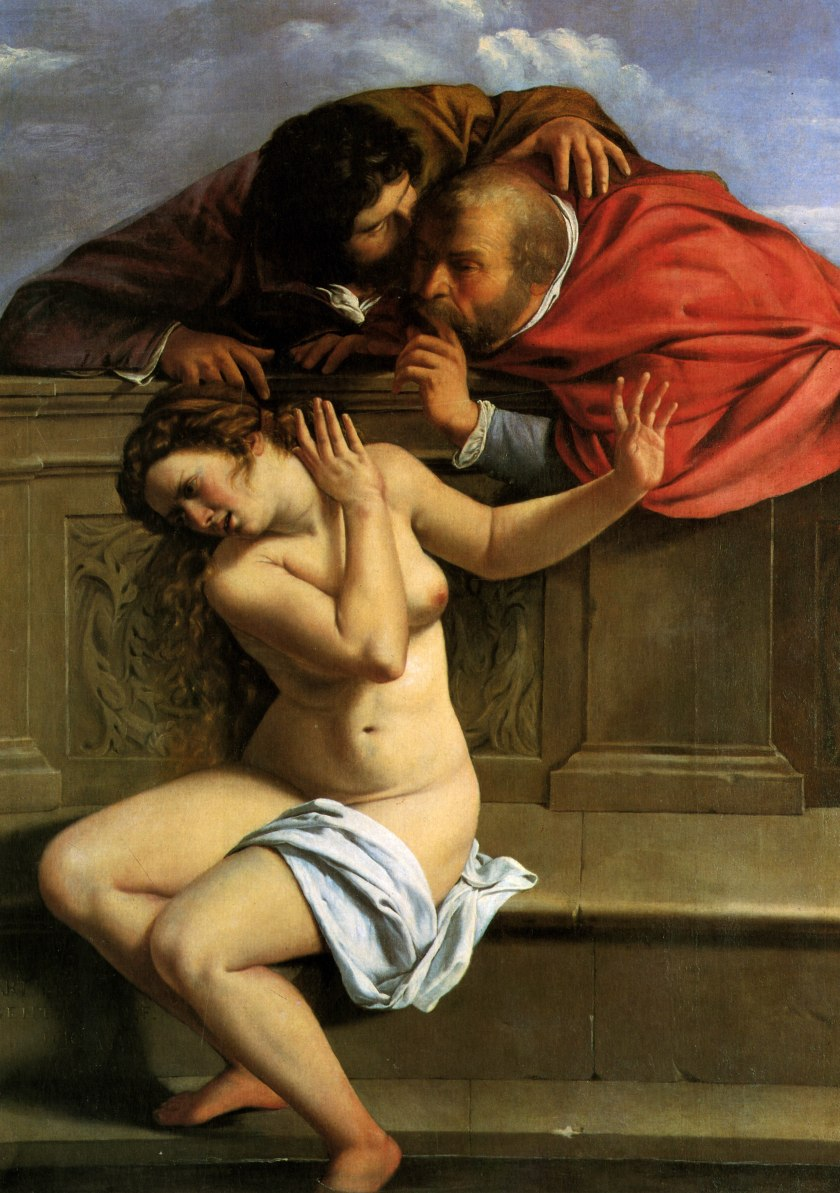 'Susanna and the Elders' by Artemisia Gentileschi (circa 1610)